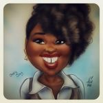 Daily Sketchs Caricature week7 CharyJay by mainasha