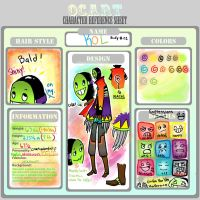 KOL: OCC Character Ref by Koolaid-Girl