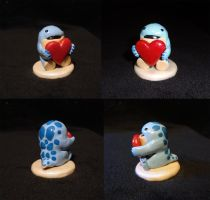 Quaggan with a heart by Koreena
