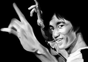 Bruce Lee by Alex-Dunn