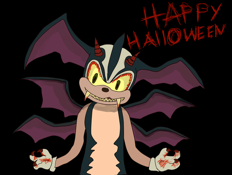 HAPPY HALLOWEEN by Sonicchica