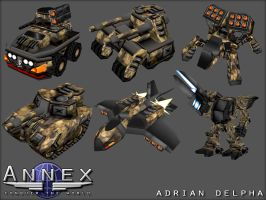 Annex Various Vehicles. by DelphaDesign