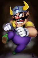 Wario Joins the Fray! by VariaZim