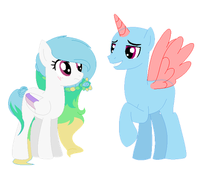 mlp collab does she have a crush? on me! by CloudyPonyArtists