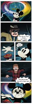 Meanwhile, at the Disney headquarter by markmak