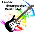 Fender Stratocaster Vector by The-Light-InTheDark