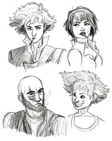 Bebop Crew by blindbandit5