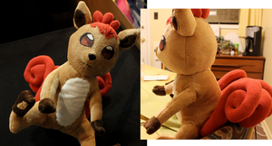 Vulpix Plushie by ARocketPrincess