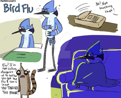 Bird Flu by Cartoonishly