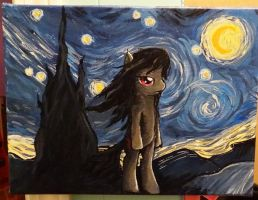 Octavia's Starry Night by stripeybelly