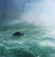 Maid of the Mist Tilt Shift by WonderDookie