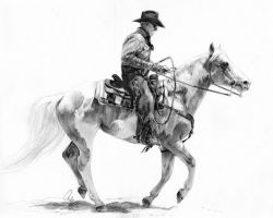 Cowboy and Companion by Define-X