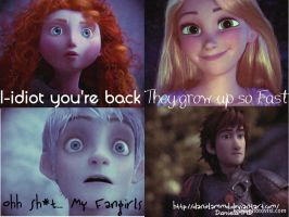 Reactions to see the new Hiccup by danielammd