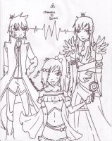 A love triangle? by WickedlyxInsane