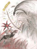 Sephiroth vs Black Doom by Sephiano