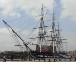 Standing Tall-USS Constitution by WolfStones