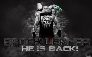 Brock Lesnar  WWE Wallpaper by WestSky