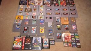 My Game Collection Part 2 by Bunnie5420