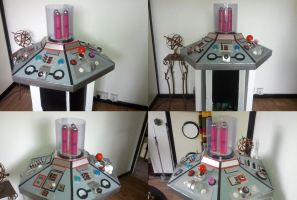 TARDIS Console revamp prop, Doctor Who by Hordriss