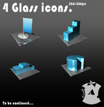 Glass icons by AlveR-spb