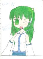Sanae-chan! by FrozenFlyingKero
