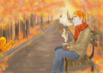Rustling Leaves_ArtTrade with NamiAngel by lauri244