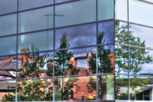 College reflection by Cyberax666