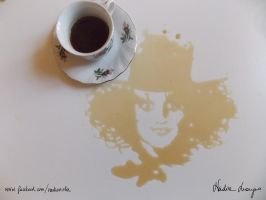 ''It's always tea time'' The Mad Hatter by NadienSka