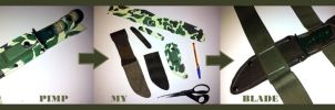Metal Gear - Survival Knife by RBF-productions-NL