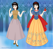 Snow Queen Snow White by msbrit90