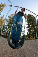 Ripped Jeans and Swing by MarieMoore91