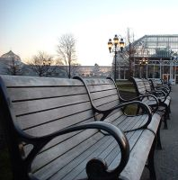 Benches at Phipps by mygrane