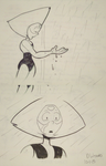 Steve Universe SPOILERS Peridot and rain by DYW14