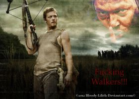 Daryl Dixon by Bloody-lilith