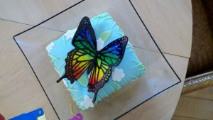 Butterfly Cake Decoration 1 by Helegris-Nimbereth