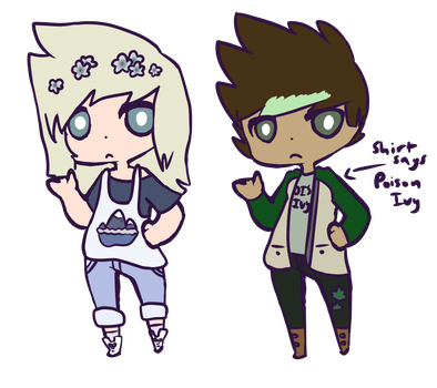 Mystery Aesthetic Adopt Outcomes | 2 and 3 by iCutezee