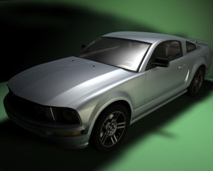 Ford Mustang by Makka12