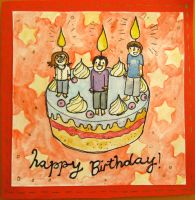 birthday card by looking-glass-pear