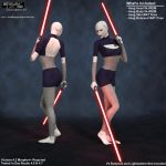 Asajj Ventress for V4.2 by Crimsonight