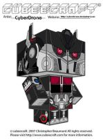 Cubeecraft-Nemesis Prime 'LAM' by CyberDrone
