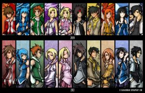Hitsuzen Cast: Then And Now by isaiahjordan