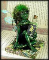 Absinthe Fairy by NeverlandJewelry