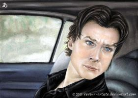 Damon Salvatore by reveur-artiste