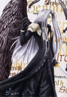 Sephiroth - one winged angel by Black-Orochimaru