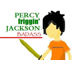 Percy Jackson: Badass. by alicecullengirl