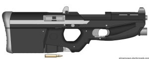 Generant Security Rifle by SpectraTaika