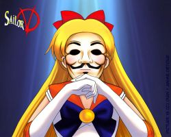 Sailor V for Vendetta by rubyd