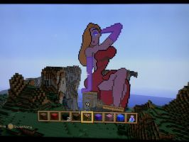 Jessica Rabbit Minecraft by crystalunicorn83