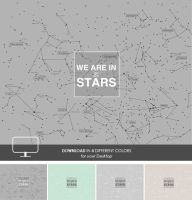 Stars Wallpaper with Quote by cocorie