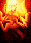 The Morning Star Seraph by ThunderBadger